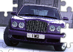 Fioletowy, Bentley Arnage, Atrapa
