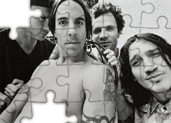 Chad Smith, Anthony Kiedis, Flea, John Frusciante