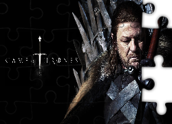 Serial, Gra o tron, Game of Thrones, Eddard Stark, Sean Bean