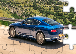 Bentley Continental GT, Wzgórza