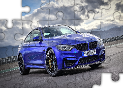 Niebieskie, BMW M4 CS Limited Edition, 2017