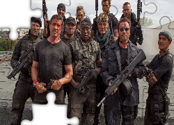 Film, Niezniszczalni 3, The Expendables 3, Jason Statham, Sylvester Stallone, Randy Couture, Wesley Snipes, Dolph Lundgren, Arnold Schwarzenegger, Antonio Banderas