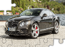 Bentley Continental GT, Przód, Bok