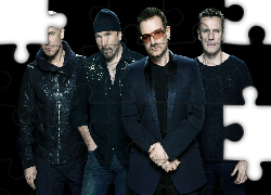 U2, Zespół, Rock, Adam Clayton, The Edge, Bono, Larry Mullen