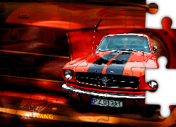 Ford Mustang, Pomarańczowy