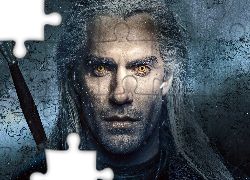 Serial, Wiedźmin, The Witcher, Aktor, Henry Cavill, Geralt z Rivii