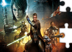 Star Wars: The Old Republic, Postacie, Walka