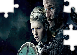 Serial, Vikings, Wikingowie, Travis Fimmel, Katheryn Winnick