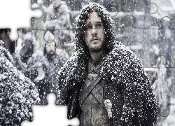 Serial, Gra o tron, Game of Thrones, Kit Harington, Jon Snow