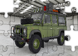 Zielony, Land Rover Defender