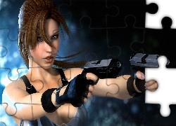 Tomb Raider, Lara Croft, Broń