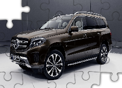 Mercedes-Benz GLS, 3D