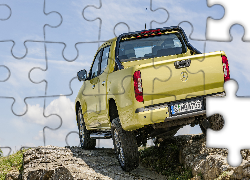 Żółty, Mercedes-Benz X-Class Pick Up, 2017