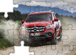 Mercedes-Benz X-Class Pick-up, Czerwony