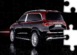 Mercedes-Maybach GLS 600, Tył