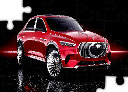 Mercedes Maybach Ultimate Luxury, SUV, Concept, Czarne tło