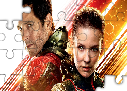 Film, Ant-Man i Osa, Paul Rudd, Evangeline Lilly