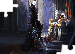 Gra, World of Warcraft, Arthas Rise of the Lich King, Arthas Menethil, Zbroja, Miecz