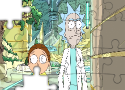 Serial animowany, Rick i Morty, Postacie, Morty Smith, Rick Sanchez Rick i Morty