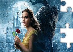 Film, Piękna i Bestia, Beauty and the Beast, Aktorka, Emma Watson