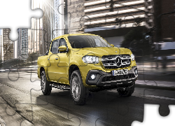 Mercedes-Benz X-Class Pick Up, 2017, Droga